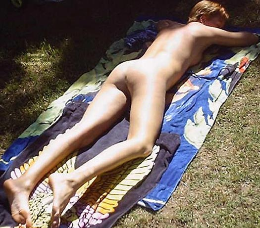 Pic #9 - Tanning Outside
