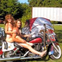 Lovely At The Buck Naked Biker Bash
