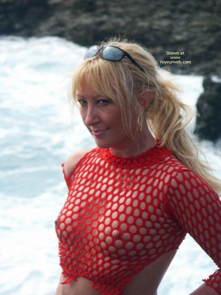 Pic #8 - *Ni Teasing My Nipples In Public