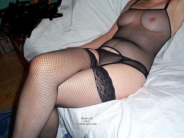 Pic #1 - Karen In Fishnets