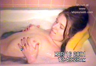 Pic #4 - My Wife Taking a Bath