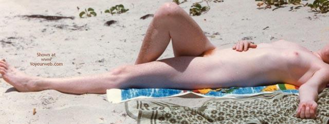 Pic #3 - Nude Beach Redhead