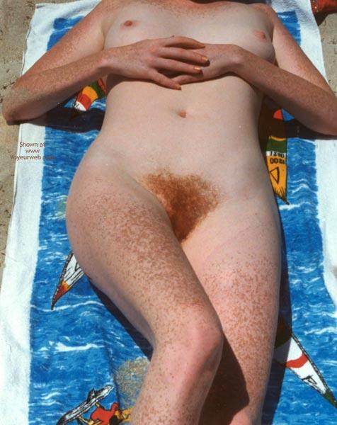 Pic #4 - Nude Beach Redhead