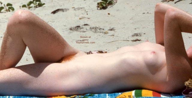Pic #5 - Nude Beach Redhead
