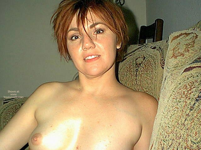 Pic #1 - Small Tits On Redhead
