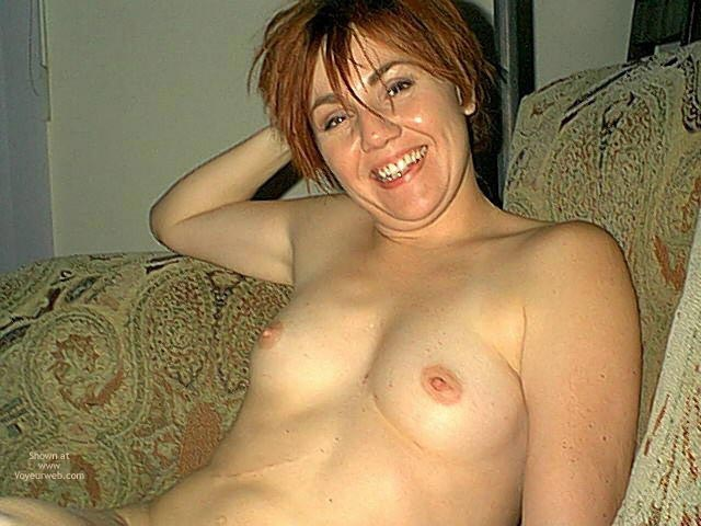 Pic #3 - Small Tits On Redhead