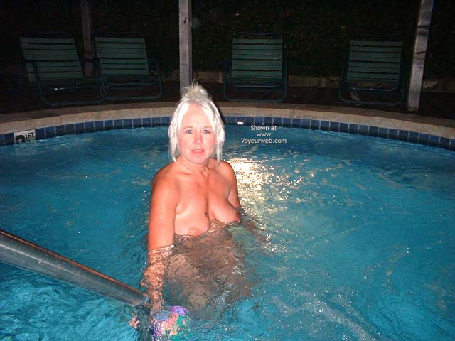 Pic #2 - Tammy In Hot Tub 2