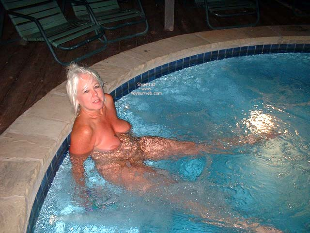 Pic #4 - Tammy In Hot Tub 2