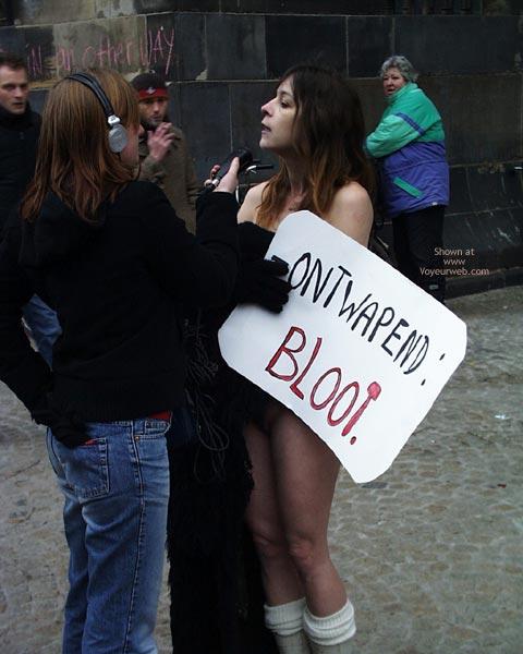Pic #2 - Protester