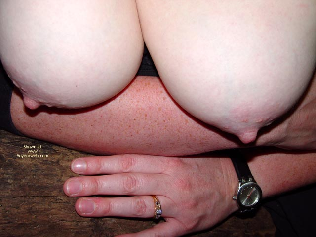 Pic #3 - Bbw Vicki Naked In The Woods