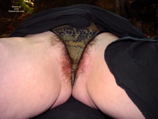 Pic #5 - Bbw Vicki Naked In The Woods