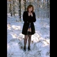 Veronique In The Snow