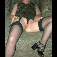 Blonde Wife Getting Warmed Up