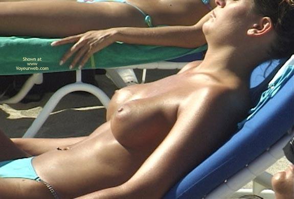 Pic #6 - Topless Beach Extravaganza