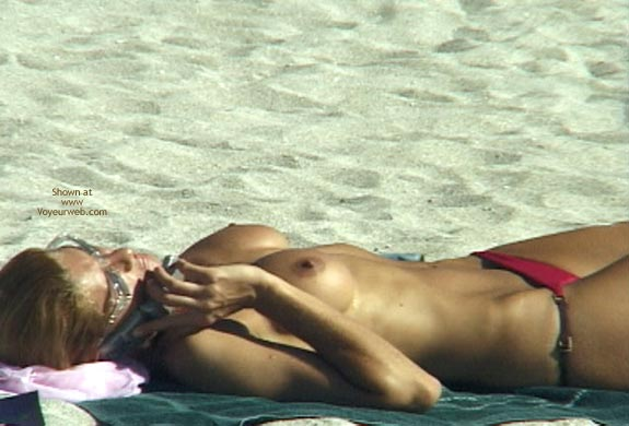 Pic #8 - Topless Beach Extravaganza