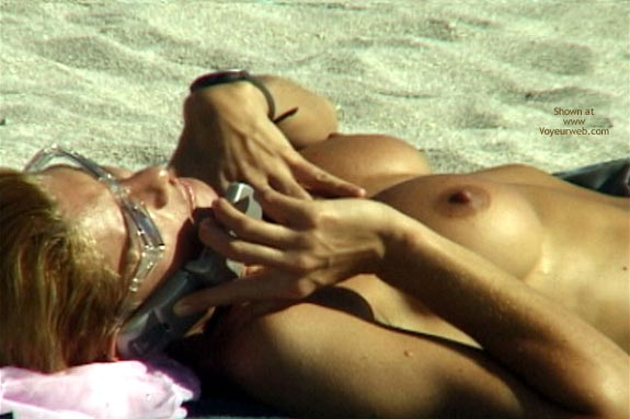 Pic #9 - Topless Beach Extravaganza