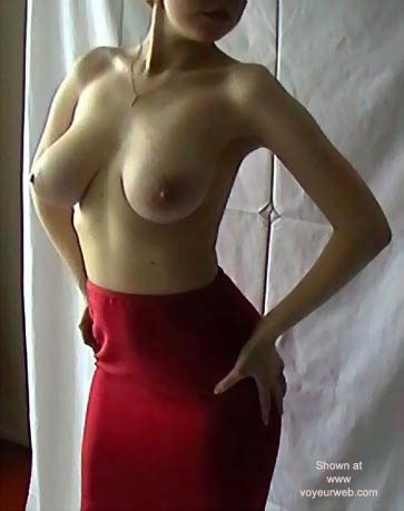Pic #1 - Russian Wife * Red Skirt