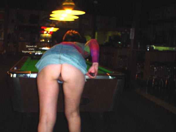 Pic #2 - Midwest Cindy Visits The Pool Hall