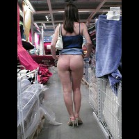 Skirt Lifting - Nude In Public