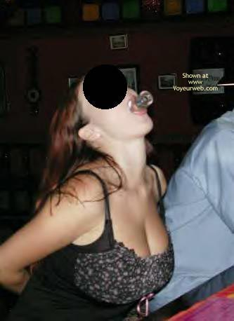 Pic #2 - My Drunk Wife Shows Some Booty