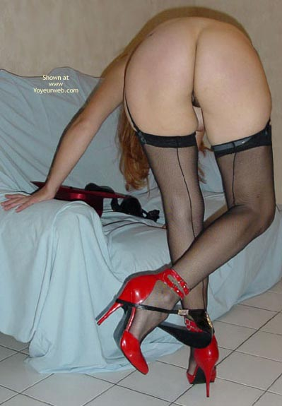 Pic #5 - Stocking And Heels