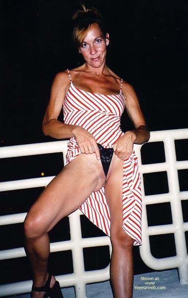 Pic #6 - Kim4kate-Red, White & Boobs