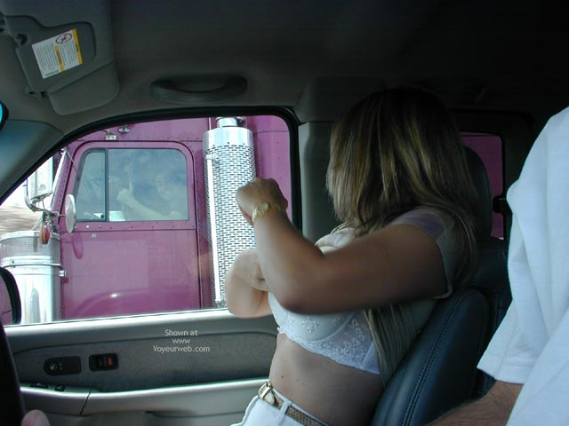 Pic #1 - Candi Keeping The Trucker'S Happy