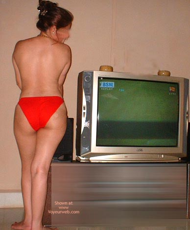 Pic #4 - Sexy Indian Indiebabe In Red Panties