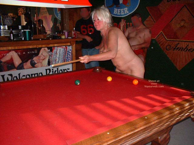 Pic #1 - Tammy Playing Pool With Friends