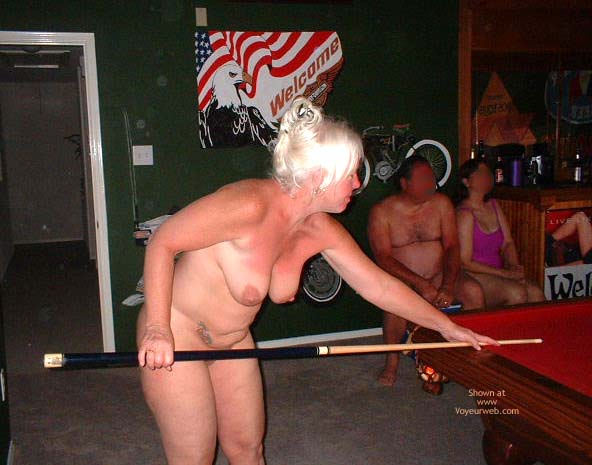 Pic #6 - Tammy Playing Pool With Friends