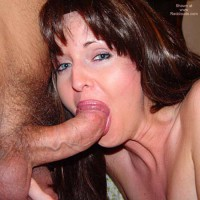 *JO More of Nadine Sucking on a Big Thick Cock