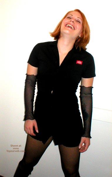 Pic #2 - Anya 20 Fishnets And Dickies Dress
