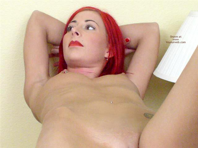 Pic #5 - Jayna 19 Yo Red In White