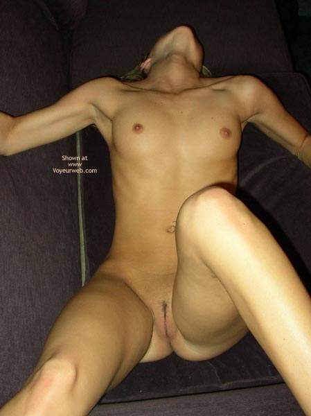 Pic #1 - Laying On Sofa - Arched Back, Shaved Pussy, Small Breasts, Small Nipples , Laying On Sofa, Shaved Pussy, Leaning Back, Small Nipples, Small Breasts, Arched Back, Very Small Nipples