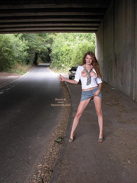 Pic #1 - Fannyflasher  Hitch Hiking