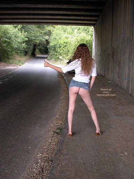 Pic #2 - Fannyflasher  Hitch Hiking