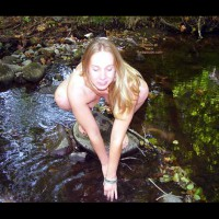 Scout Getting Naked in The River 2