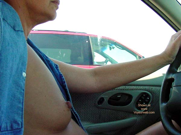 Pic #6 - DN* Sweet Nips Driving Naked...Well Almost