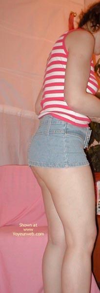 Pic #5 - Sheena'S Denim Microskirt  2