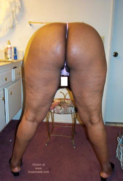 Pic #5 - Chocolate BBW Wife
