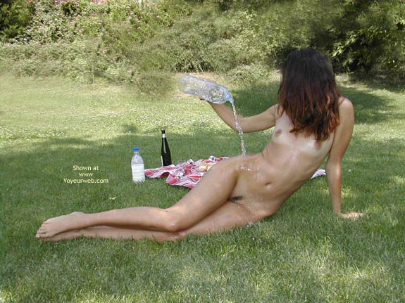 Pic #6 - Sexy Lucy Hot Games With Water