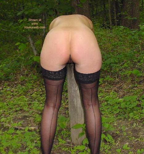 Pic #4 - SweetNips - A Little Lace in The Woods
