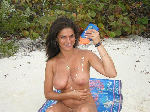 Pic #4 - Vanessa Lonely Beach