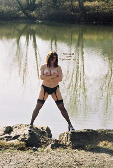 Pic #10 - Flashing At The River