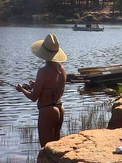 Pic #3 - Slut Gone Fishing