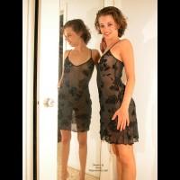 Girl In Sheer Dress - Standing