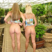 Two Girls - Exposed In Public, Girls, Long Legs