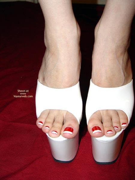 Pic #2 - White Heels