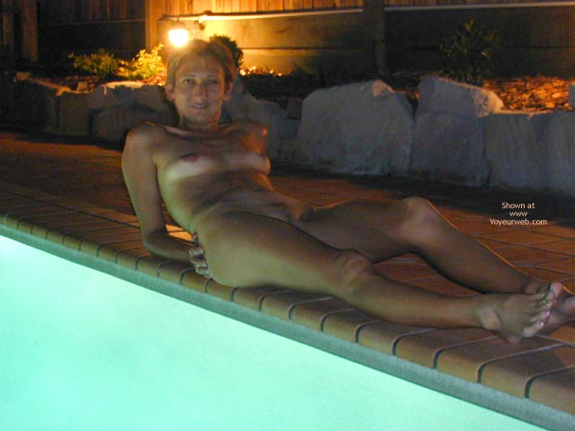 Pic #3 - Claudia At Friend'S Pool 2