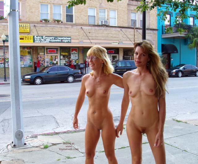 Pic #6 - Let'S Walk Naked Around Downtown!!